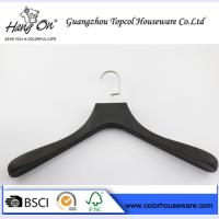 Quality ABS fashion plastic hanger coat hanger man's clothes hanger for sale