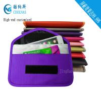 Pregnant RFID Travel Bags Cell Phone Signal Blocker Pouch For Mobile Phones Manufactures