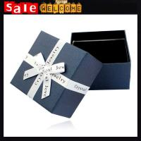 Watch Jewelry Gift Boxes Cases Display,Jewelry Bow Rings Square Pack Jewelry Gift Boxes Manufactures