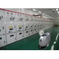 Two Size Charger Compact Floor Scrubber Dryer Machine Pushing Behind For Electric Company Manufactures