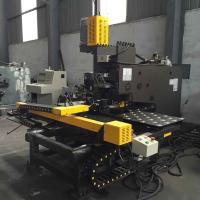 CNC Steel Plate Punching Cnc Punch Machine With Cnc Control System Manufactures