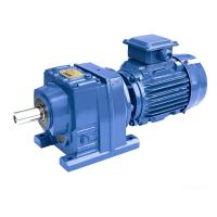 30kW R107/R137/R147 Ratio 20.07/14.51 speed reducer gearbox shaded pole gear motor Manufactures