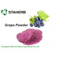 Anti - Aging Dehydrated Fruit Powder , Grape Juice Powder Fit Beverage / Food Manufactures