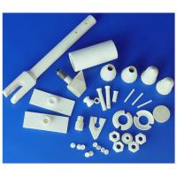 Yellow Thermal Casting / Dry press / Extrusion 99% AL2O3 Industrial Alumina Ceramic Parts Manufactures