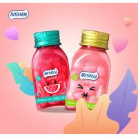 Colorful Bottle Sugar Free Compress Mint Candy / Vitamin C Candy Tablets Manufactures