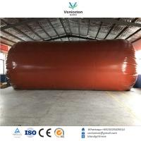 Biogas plant Anaerobic fermentation tank biogas digester with double membrane gas holder gas storage bag Manufactures