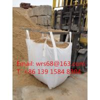 Woven Polypropylene 1 Ton Bulk Bags , One Ton Bags 1 Ton Sacks For Chemical / Building Manufactures
