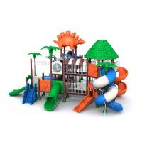 China Empty Place Kids Outdoor Play Structure / Toddler Outside Play Set With Huge Slide on sale