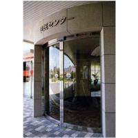 Round Automatic Curved Sliding Door , hotel auto sliding glass door Manufactures