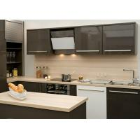 Man Made Stone Kitchen Countertops Eased Edge Polished For Restaurant Manufactures