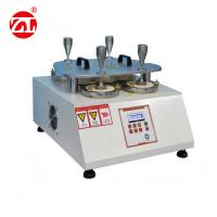Four Work Stations Textile Testing Machine , Pilling Martindale Abrasion Tester Manufactures