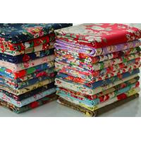 Bags Lining Fabric / Printed Cotton Canvas With Fine Plain Woven Technics for sale