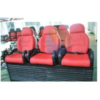 5D movie theater chair supplier with red, yellow, blue, black color Motion Theater Chair Manufactures