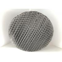 304 Knitted Metal Structured Packing Low Load Properties High Flux Heat Resistant Manufactures