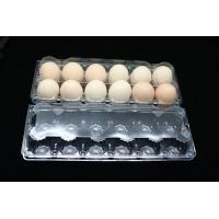 12 holes Cells Clamshell clear transparent plastic PVC egg tray 2x6 Manufactures