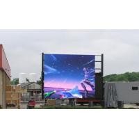 SMD Led Wall Screen Display Outdoor , Advertising Led Video Display P6 P8 P10 1R1G1B Manufactures