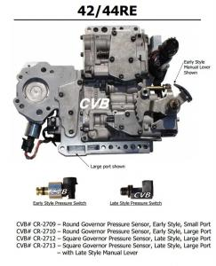 Auto Transmission 42RE 44RE sdenoid valve body good quality used original parts Manufactures