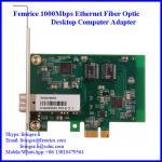 10/1001000Mbps Ethernet NIC Card SFP Slot Single Port Desktop Computer Network Card Manufactures