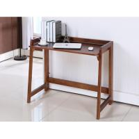 Solid Foldable Wood Computer Desk 100 * 60 * 30 Cm Saving Room For Home / Office Manufactures