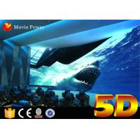China Digital Movie Play System 4D Movie Theater Electric Motion 3 DOF Chairs with Cup Holders on sale