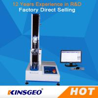 100KG Tensile Strength Testing Equipment , Universal Tensile Testing Machine With Speed 0.1-500mm/min Manufactures