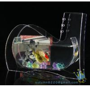 Wedding decoration small acrylic fish tank Manufactures