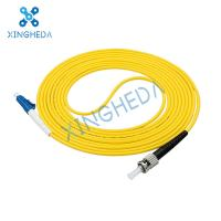 lc-lc Outdoor waterproof field optical cable single mode 4 core 3m 10m 20m 50m branch tape armored optical fiber jumper Manufactures