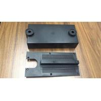 Custom Design Plastic Injection Molding Parts , Black Plastic Injection Parts Manufactures