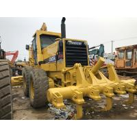 Gd825a Used Komatsu Motor Grader Ripper Available 280hp Engine Power Manufactures