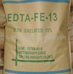 China Microgranular EDTA Ferric Sodium Salt EDTA-FE-13 CAS No. 15708-41-5 of EDTA Chelator Xi on sale
