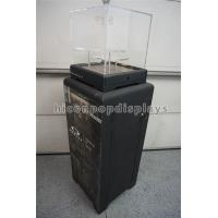Black Sunglasses Display Case Freestanding Acrylic Top Sunglass Display Cabinet Manufactures