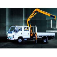China 3200kg   knuckle boom crane Truck Mounted 6.72 T.M Lifting commercial on sale