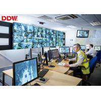 """49"""" Video Wall Display Monitors , High Color Gamut Security Video Wall Manufactures"""