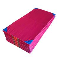 Indoor Lightweight Kids Gymnastics Mat / Folding Exercise Mat Body Building Manufactures