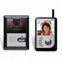 Wireless Video Door Phone with 2.4-inch TFT LCD Touch Screen Monitor and 72-hour Standby Status  Manufactures
