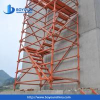 China Q235B Steel Shoring Scaffolding Systems Galvanized Coated Q235 Steel Tube on sale
