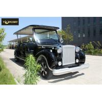 China Vintage High end atmosphere Golf Car 12 Seater Classic Cart  With CE Certificated on sale