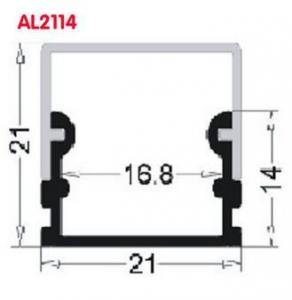 AL2114 Aluminum led profiles LED extrusion profiles,LED profile for led light,LED Aluminum profile PC cover led channel