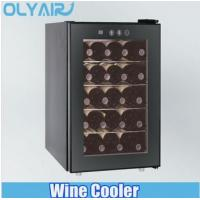China 50L Dual Zone wine cooler with 2 thermoelectric cooling system on sale