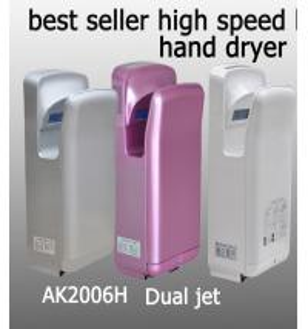 Secador da mão, banheiro rual jato de ar secador de mãos Manufactures