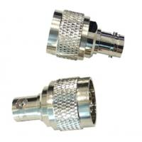 China Rf Coaxial Nickel Plated N Male To BNC Female Connector Adaptor 2500V Rms on sale