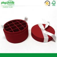 Handmade Round Chocolate Box Packaging Food Grade Well - Sealing For Candy Oval Manufactures