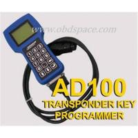 Buy cheap Clears Fault Codes Componenet Actuation Reads Immobiliser ECU ID's AD100 Car Key from wholesalers