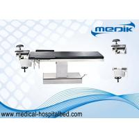 China Height Ajustable Electric Ophthalmic Surgical Operating Table Stainless Steel Structure wholesale