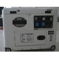 Soundproof  yanmar portable diesel generator  5kva With Four Stroke Engine Manufactures