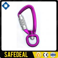 Aluminum Light Swivel Carabiner with Straight Gate Manufactures