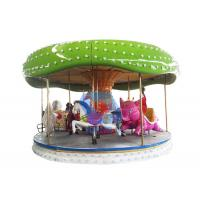2019 newest Big Outdoor playground kids equipment rides carousel for sale Manufactures