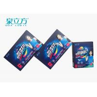 Blue Super Condensed Laundry Detergent Sheets No Hurt For Washing Machine Cylinder Manufactures