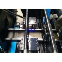Drawer Slide Purlin Roll Forming Machine PLC Inverter Encoder Touch Screen Manufactures