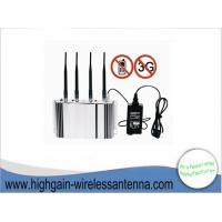 China 500MW DCS Indoor Portable Mobile Phone Signal Jammer For CNG Filling Stations on sale